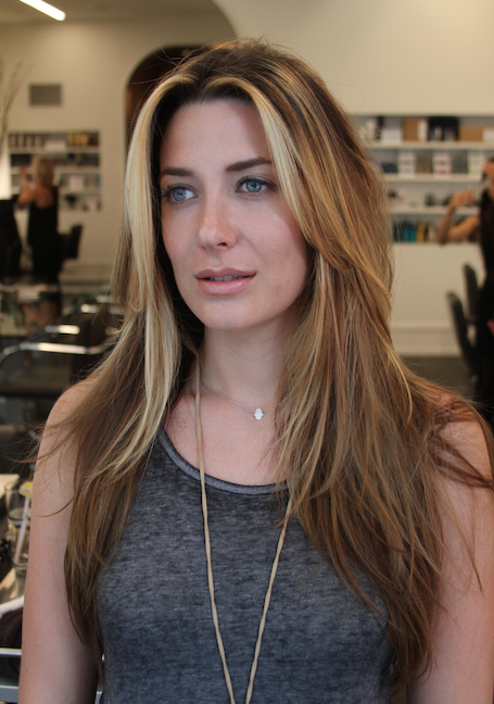 A Beautiful Bronde Via Balayage