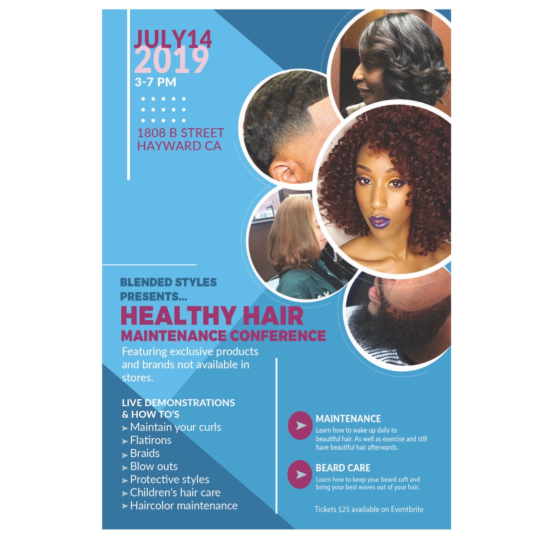 Healthy hair maintenance conference