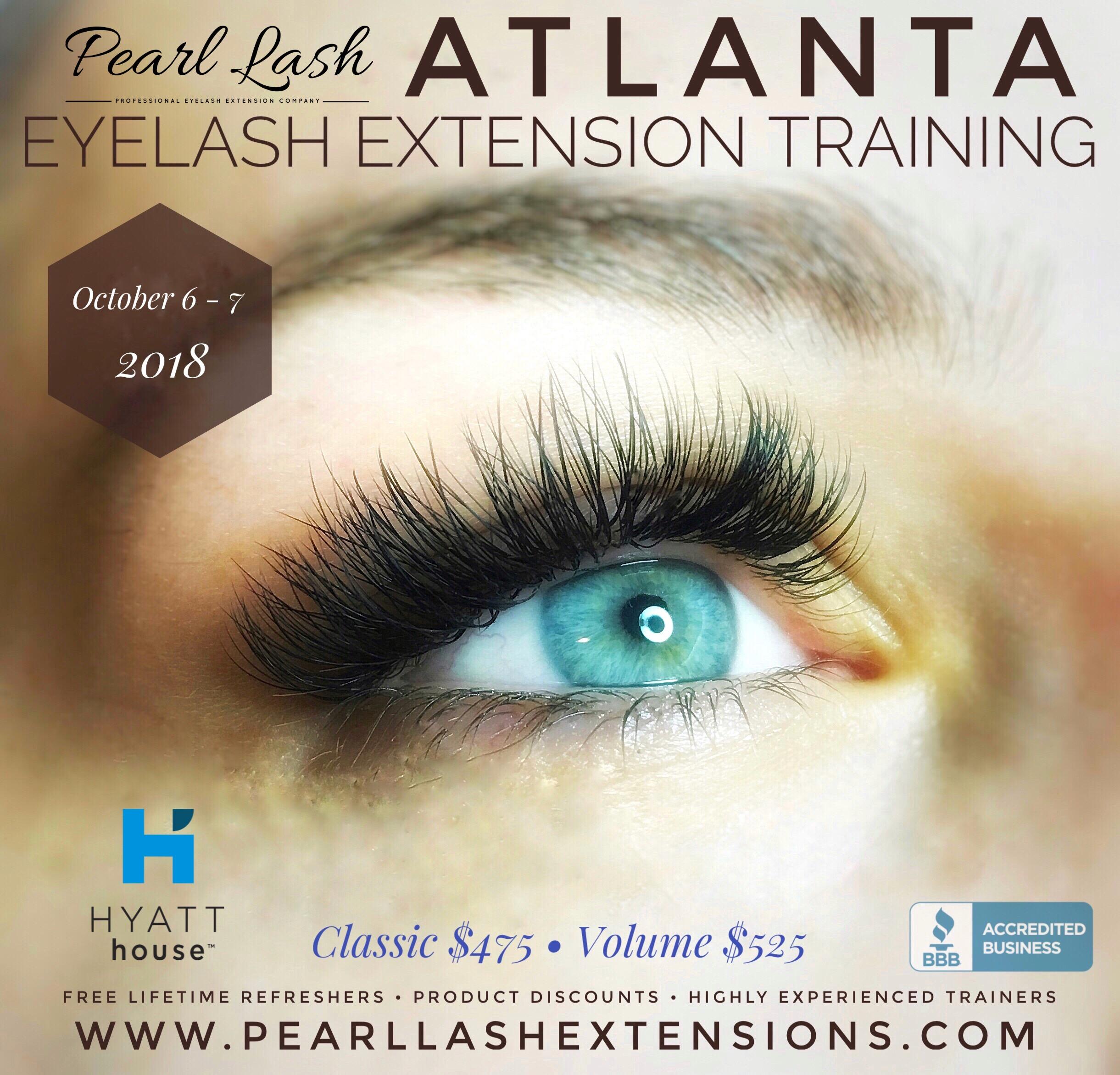 ea9bccd6ed4 Eyelash Extension Training Event Atlanta by Pearl Lash- Event ...