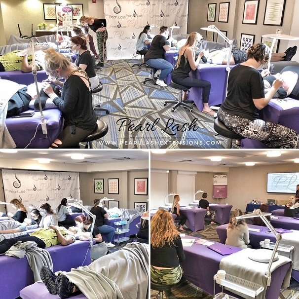 2a41aebef67 Eyelash Extension Training by Pearl Lash Jacksonville- Event ...