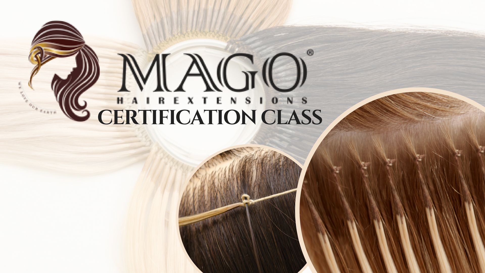 Mago Hair Extensions Certification Class Event Modern Salon