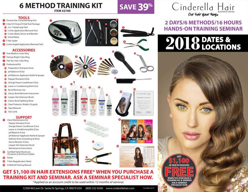 Cinderella Hair Extensions Hands On Training Seminar Event Modern