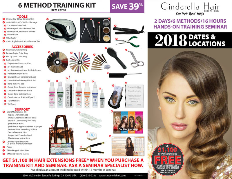 Cinderella Hair Extensions Hands On Training Seminar Event Modern