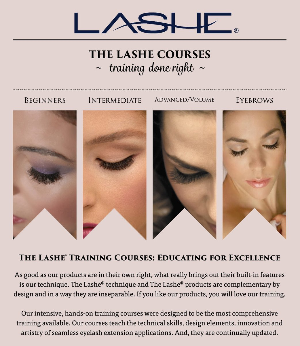The Lashe Intermediate Courses For Eyelash Extensions Event