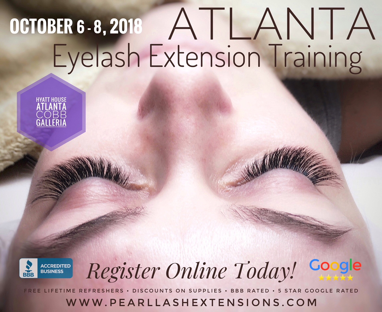 Eyelash Extension Training Atlanta Ga Event Modern Salon