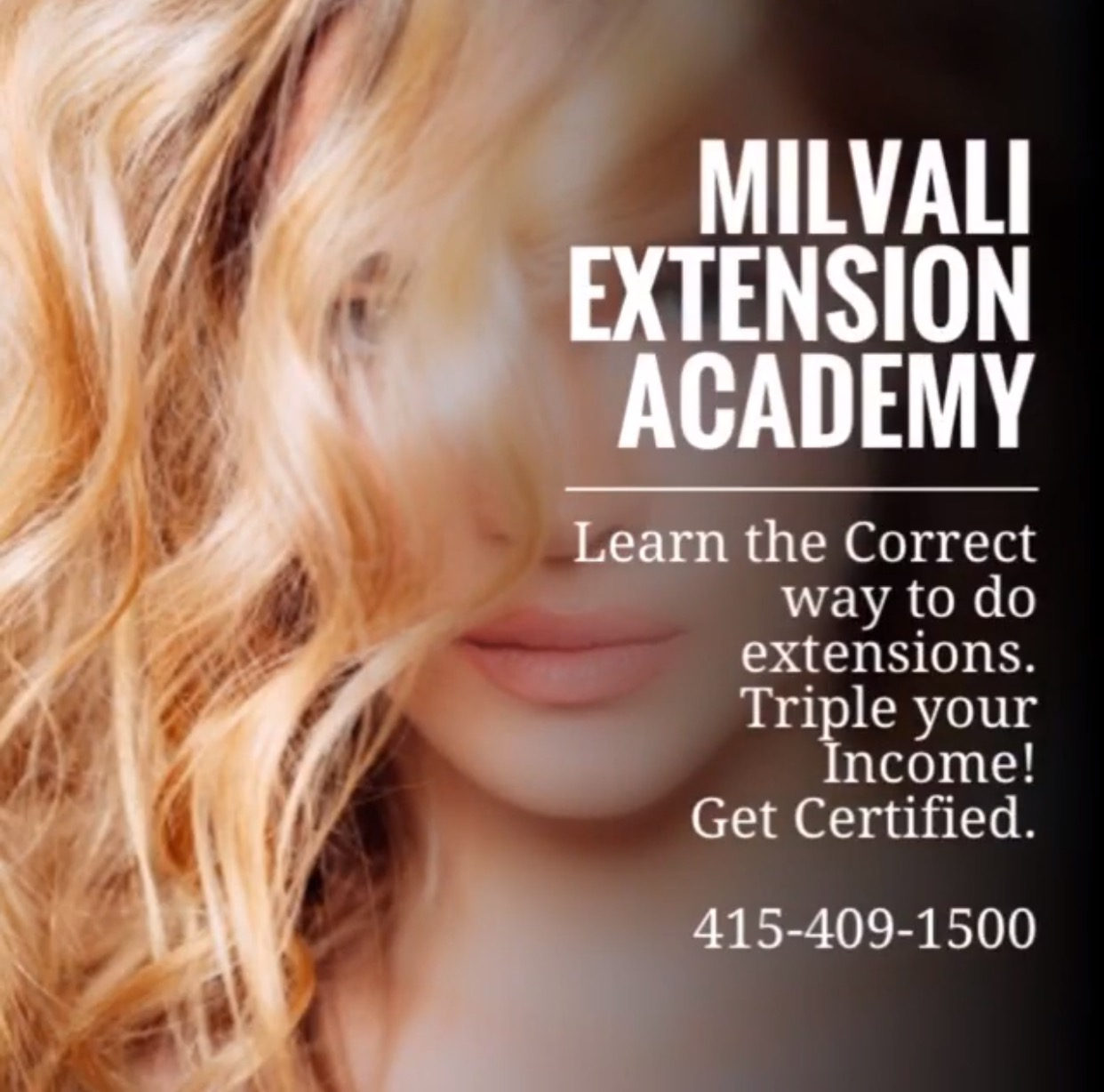 Milvali 2 Day Extension Academy With Certification Event Modern Salon