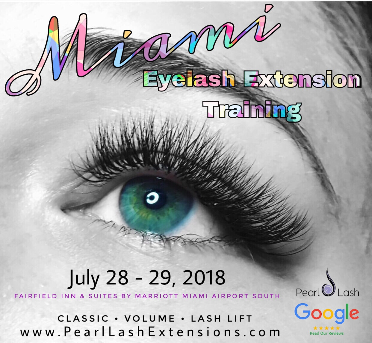 Eyelash Extension Training Miami Event Modern Salon