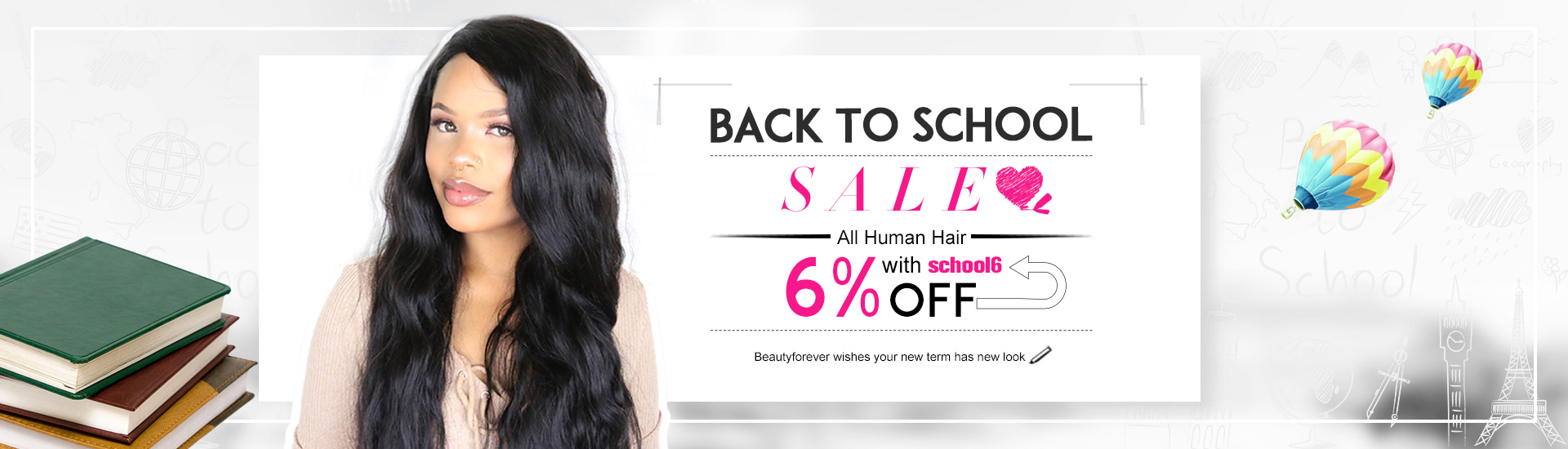 Back To School Hair Extension Sale Event Modern Salon