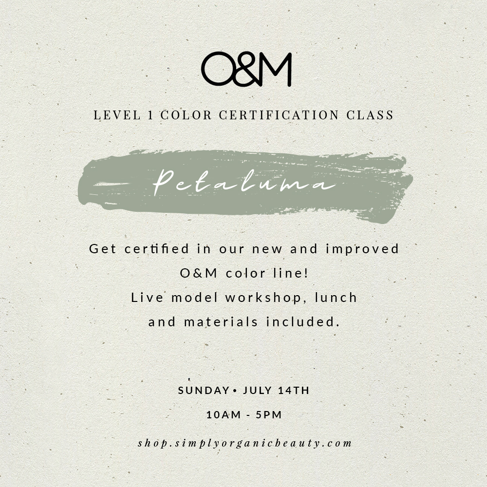 O&M Level 1 CØR.color Certification Class