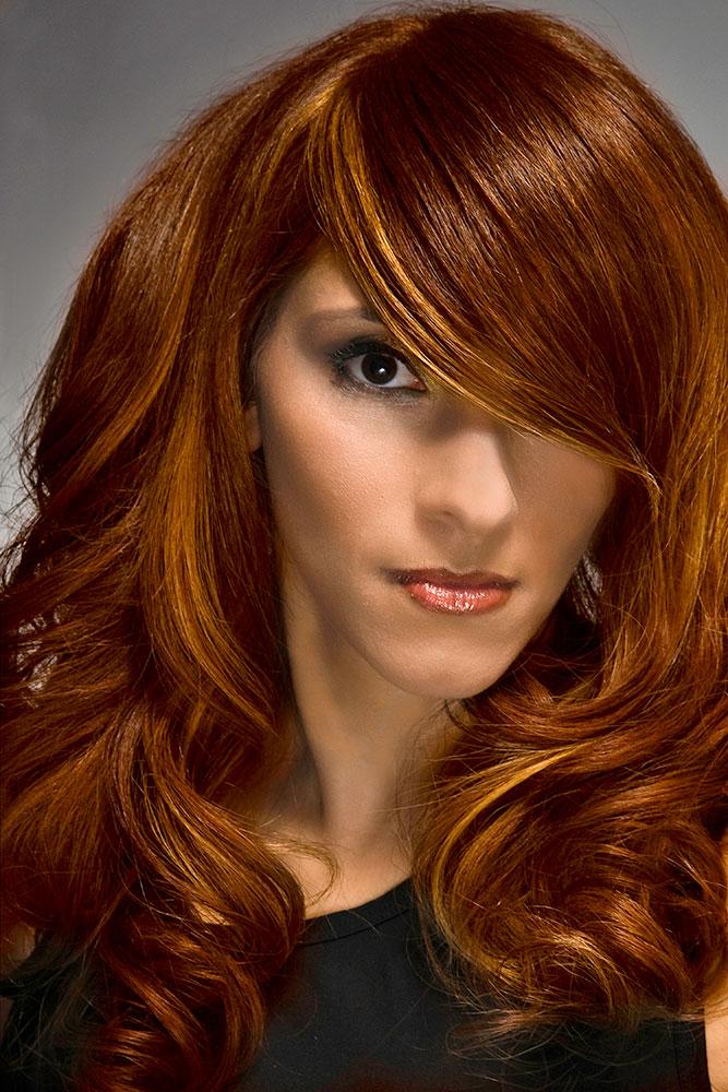 How To Autumn Spendor Fall Hair Color Idea Career Modern Salon