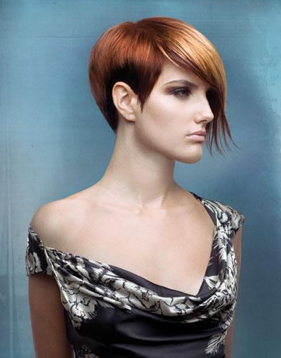 Highlight Effects on Short Hair
