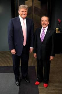 Farouk Partners with Trump's Celebrity Apprentice