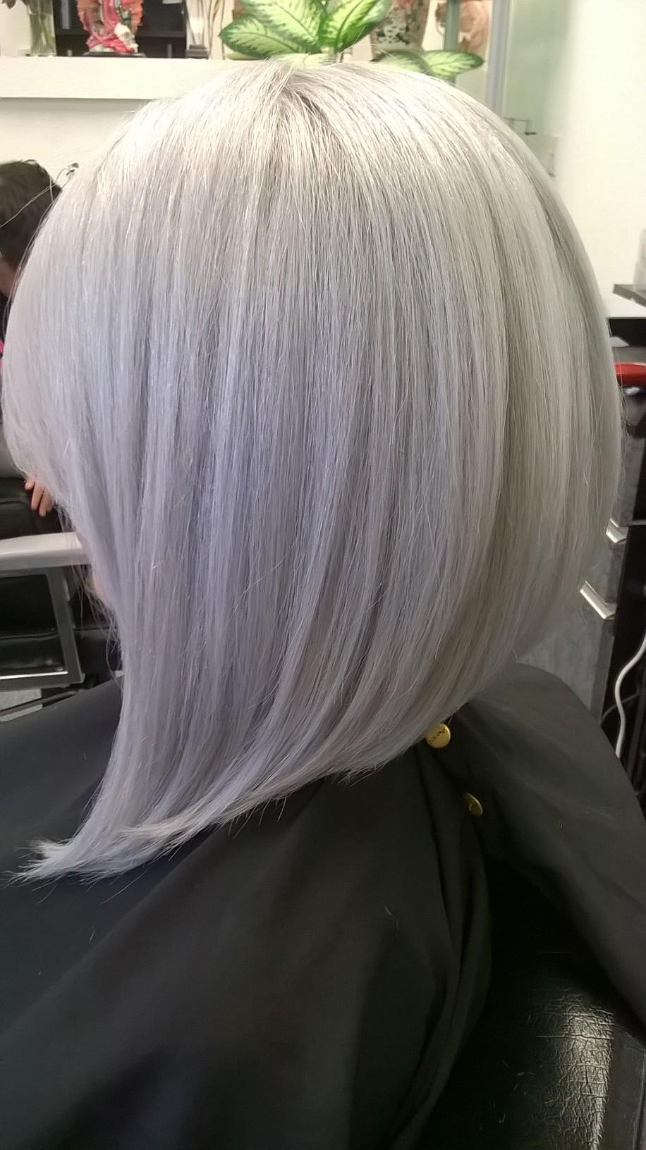 Formula Modern Silver Hair Color Modern Salon