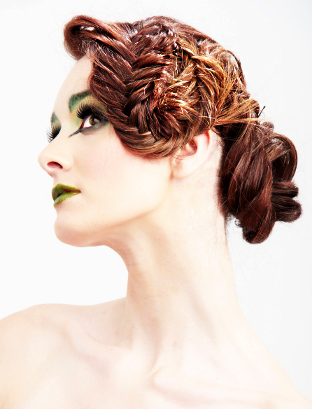 HOW-TO: Fancy Fishtail Updo