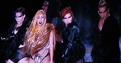 LOLLAPALOOZA: Styling Rockin' Hair with RED 7 Salon to Lady Gaga!