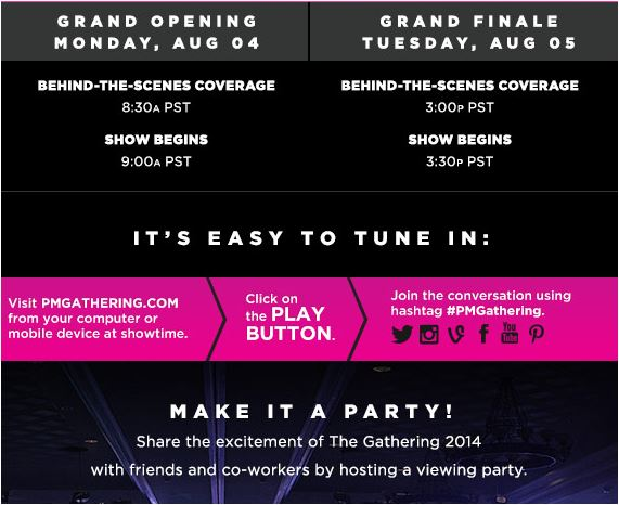 Paul Mitchell Gathering Aug. 4-5: Join Via Live Stream