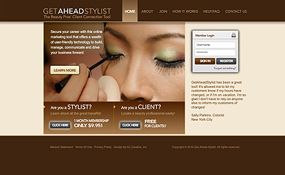 GetAheadStylist.com, A Facebook for Stylists