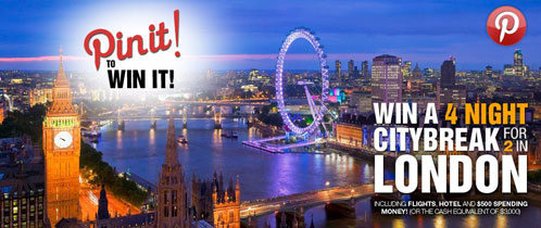 GKhair's Pin it to Win it Contest: Snag a Trip for 2 to LONDON