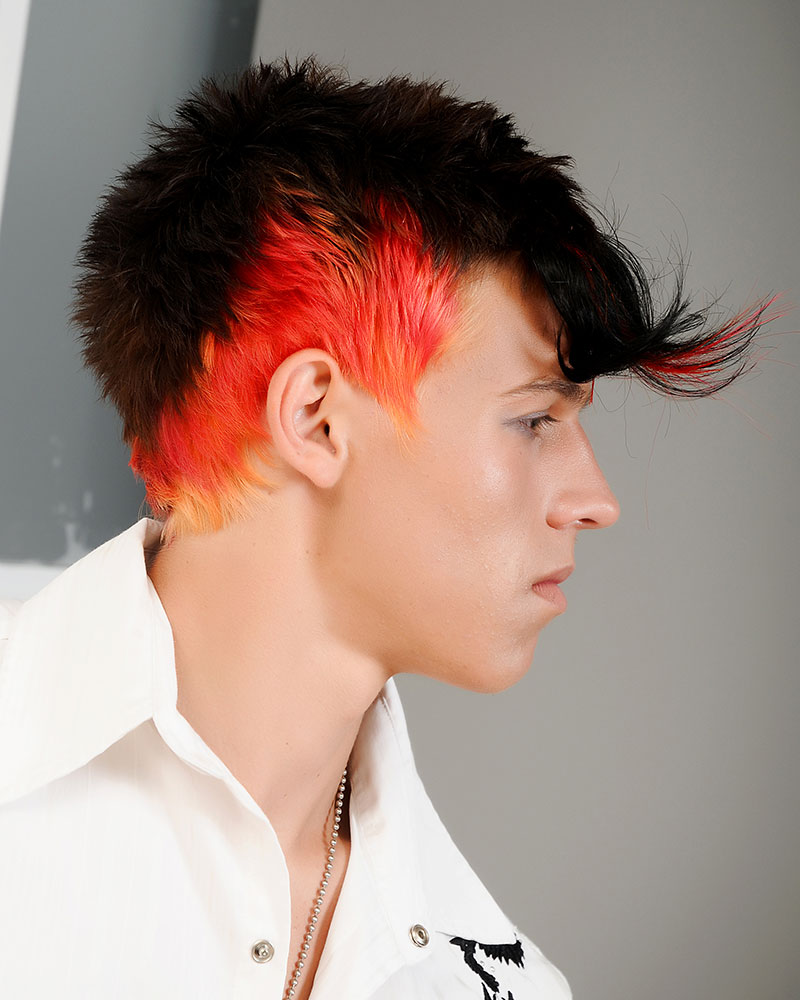 HOW-TO: Men's Contemporary Mohawk Using Hair Extensions