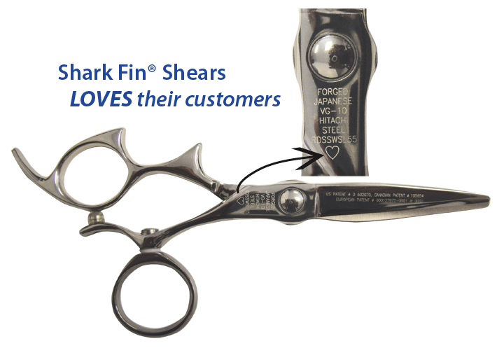 Heart-Shaped Shear Design