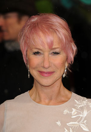 Dame Helen Mirren in the Pink at BAFTA Awards