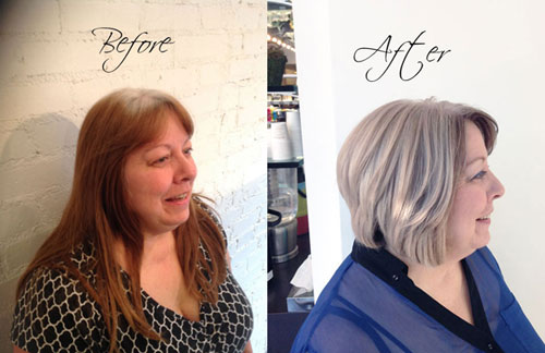HOW TO Helping Your Client Grow Out Her Natural White Gray Hair