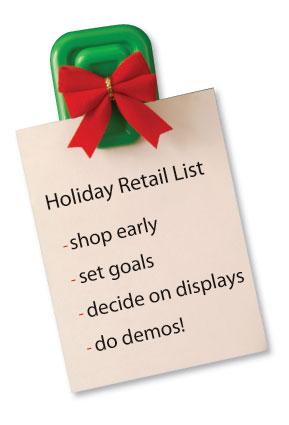 Make a Retail List, Check it Twice!