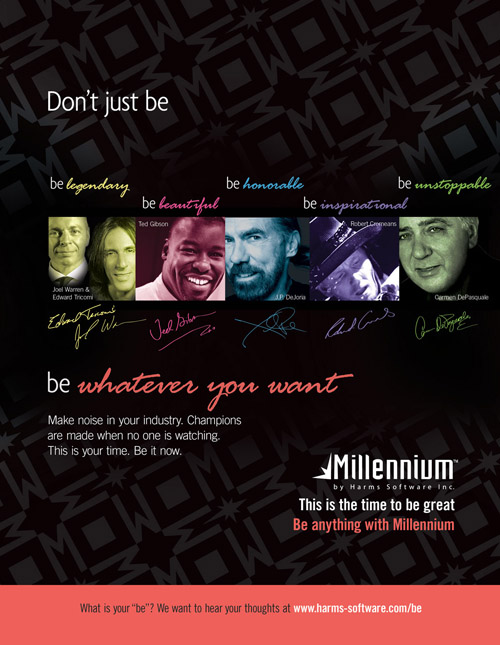 What's Your 'Be'? Millennium Wants to Know.