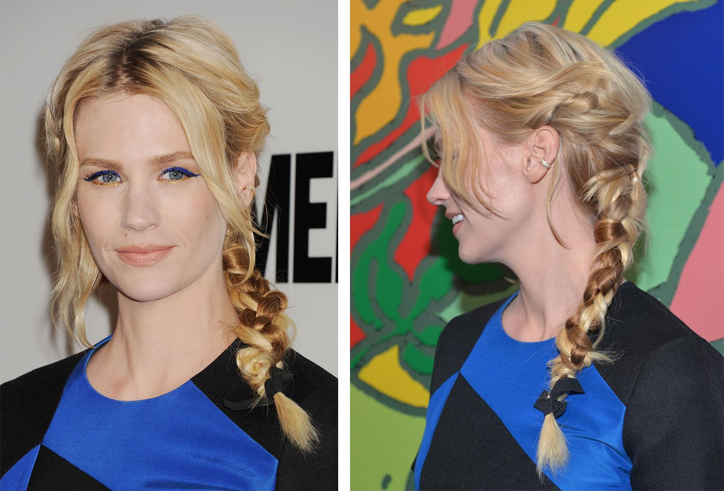 HOW-TO: January Jones at 'Mad Men' Season 7 Premiere