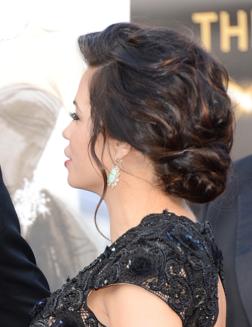 THE OSCARS: Jenna Dewan-Tatum's Elegant Updo