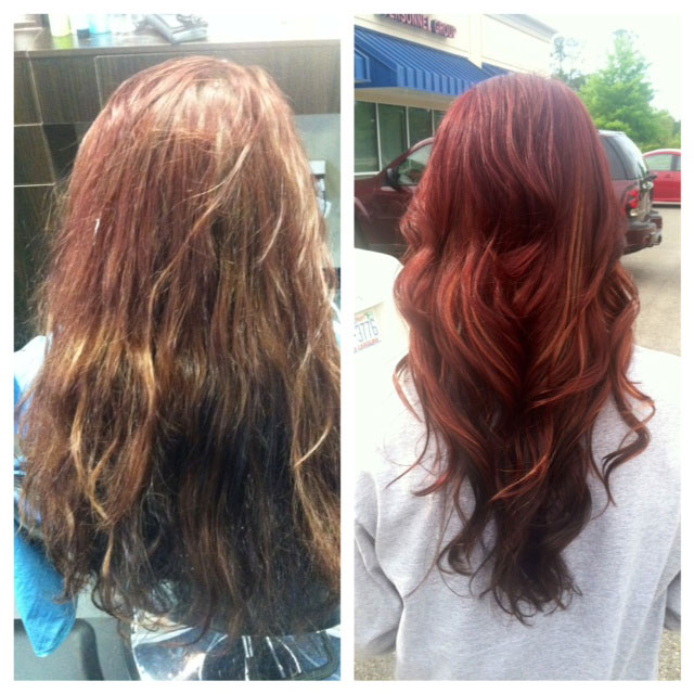 Professional Hair Color vs Box Hair Color: A Before and After
