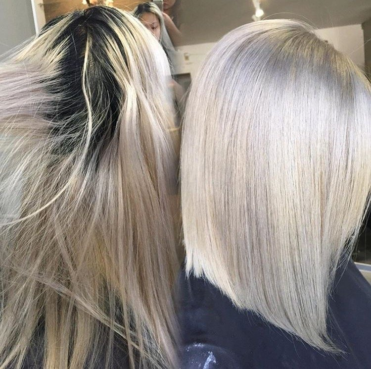 Light Ash Brown Hair Color Before And After Natural