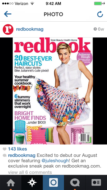COVER PIXIE: Riawna Capri Styles Julianne Hough Using UNITE