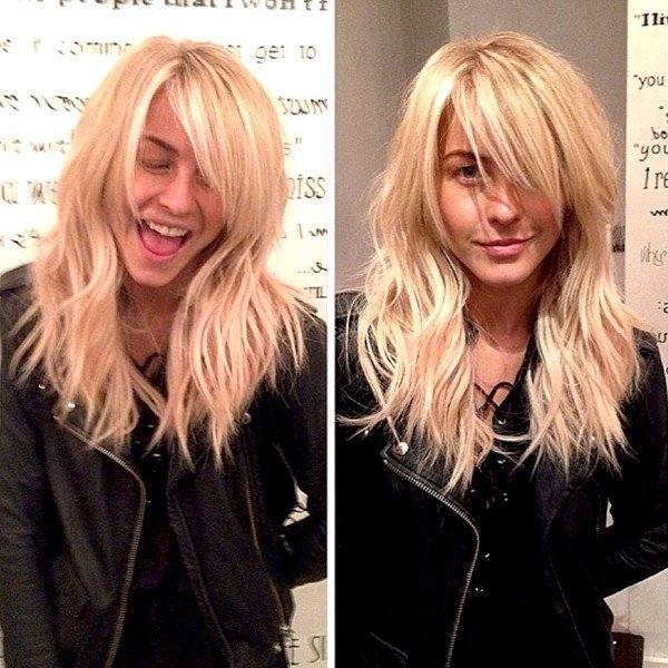 CELEB STYLE: Julianne Hough's New Hair Extensions