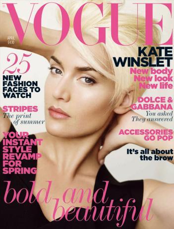 Orlando Pita on Kate Winslet's Dramatic Platinum Pixie Cut