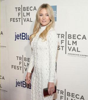 Kate Hudson at the Tribeca Film Festival