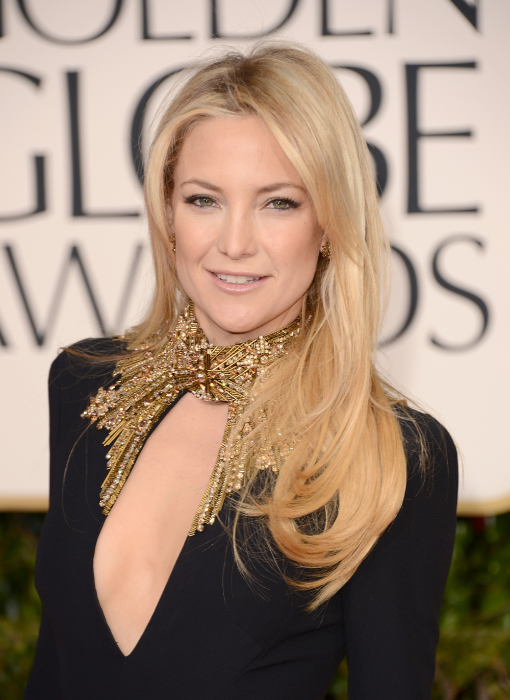 Kate Hudson's Hair at the 2013 Golden Globes