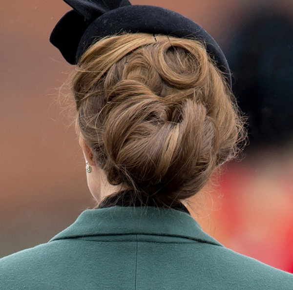 HOW-TO: Kate Middleton's Criss-Cross Chignon