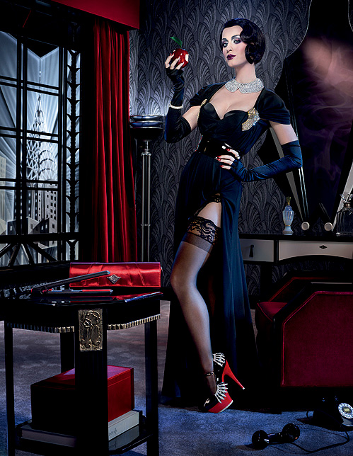 Katy Perry Poses for ghd's New Scarlett Collection