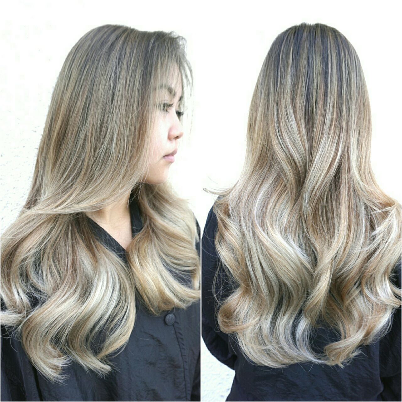 TRANSFORMATION: Banded Old Ombre To Steely Blonde Sombre - Career - Modern Salon