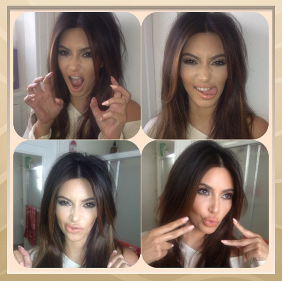 How to Recreate Kim Kardashian's New Multi-Chocolate Hue