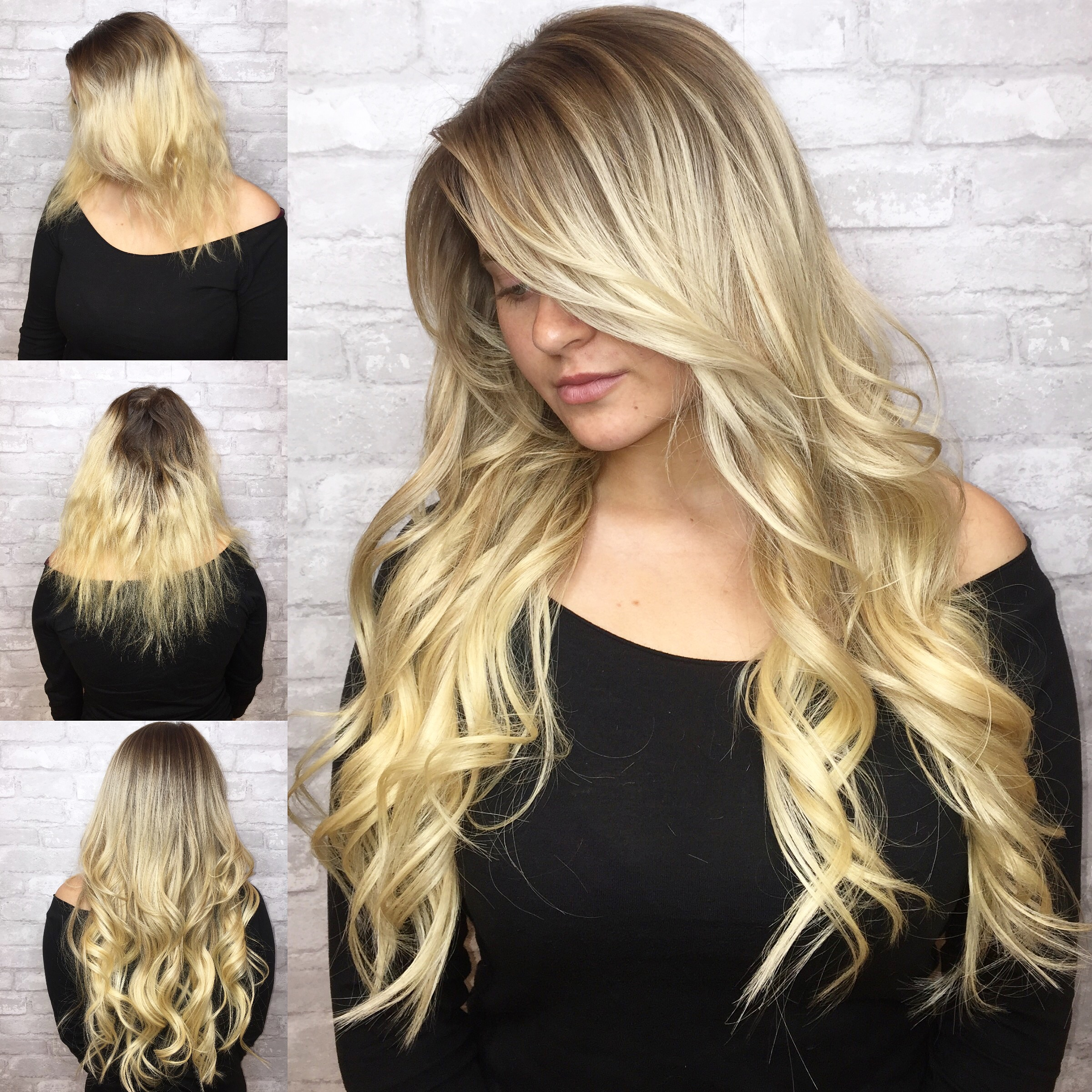 Color And Extensions For A Total Glam Finish Hair
