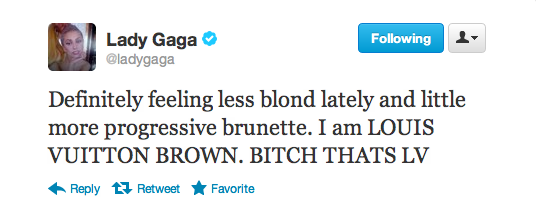 Born This Way? Gaga Goes Back to Brunette