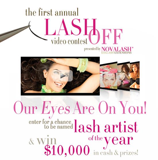 NovaLash's Lash Off Video Contest