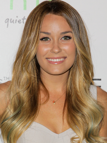 Creating Colored Tips (Check out Lauren Conrad's!)
