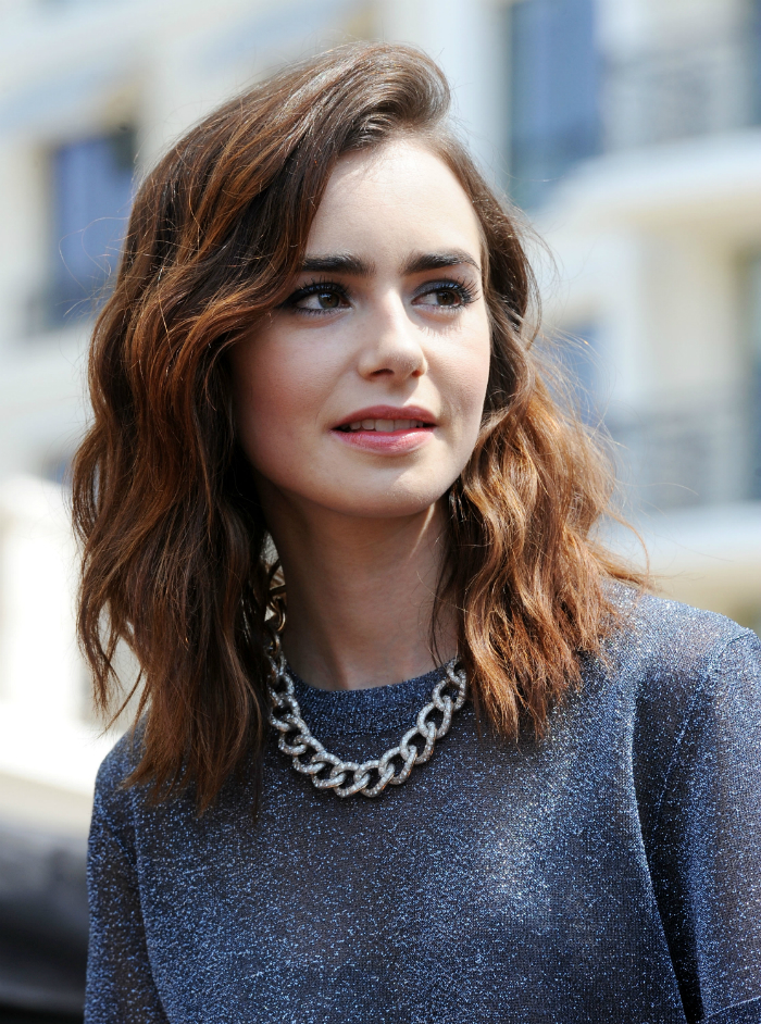 4 Hairstyles Of The 90s Rocked By Lily Collins News Modern Salon