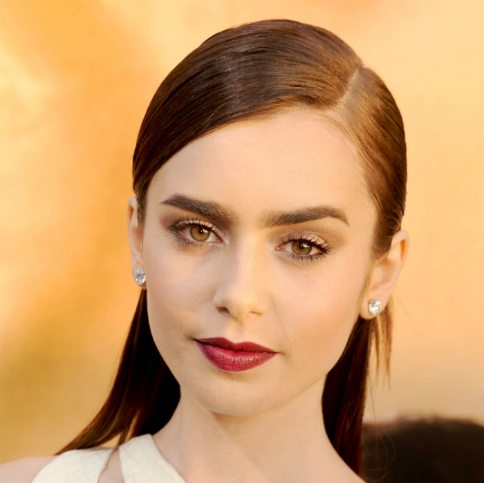 4 Hairstyles of the '90s Rocked by Lily Collins