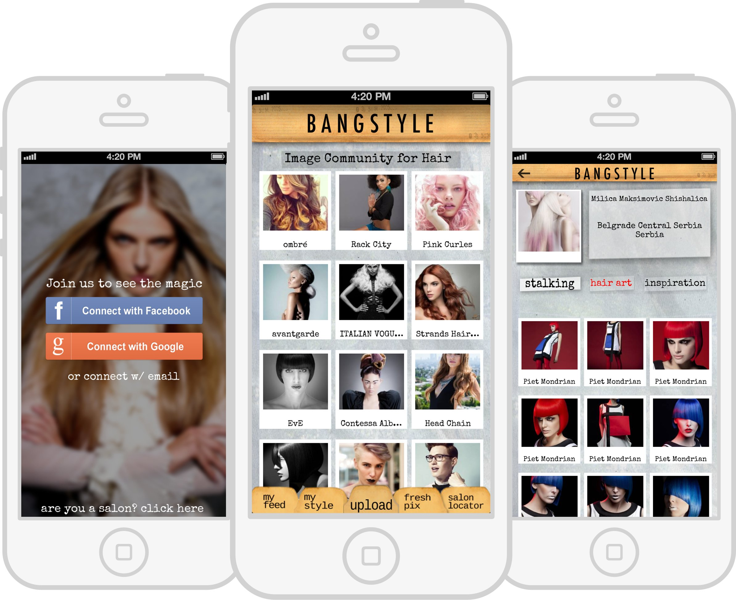 Bangstyle Launches Updated Mobile App to Share Hair