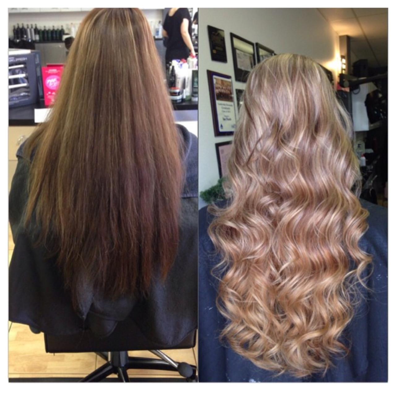 Long Hair Lightens Up