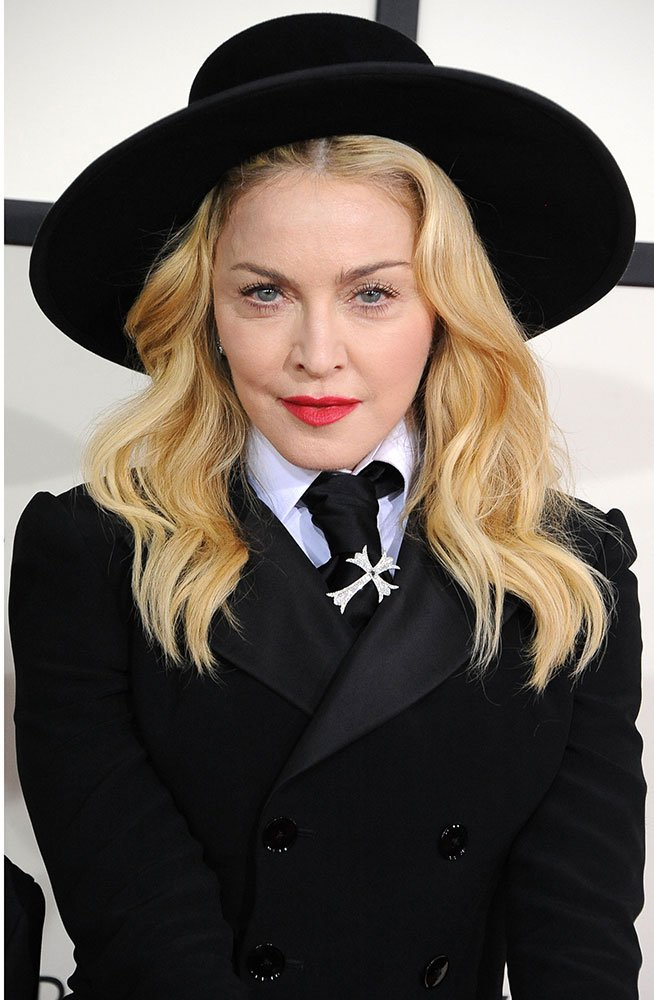 THE GRAMMYS: Madonna's Red Carpet Waves by Wella's Andy Lecompte